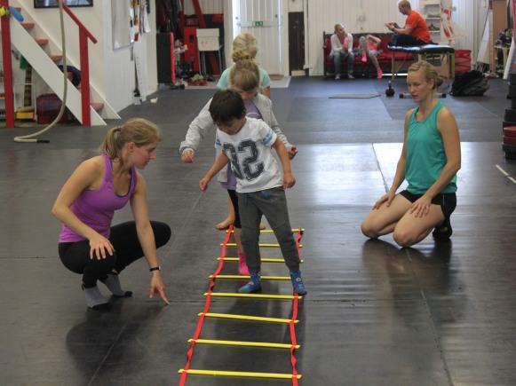 Det är viktigt att skapa en träning där barnet får möjlighet till utveckling.