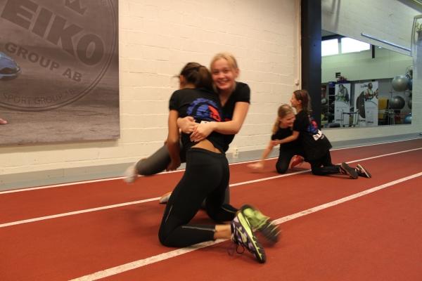 Det är alltid mycket roligare om man kan träna tillsammans med en kompis