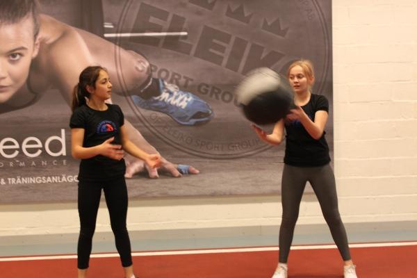 Om barn får träna tillsammans så blir det roligare