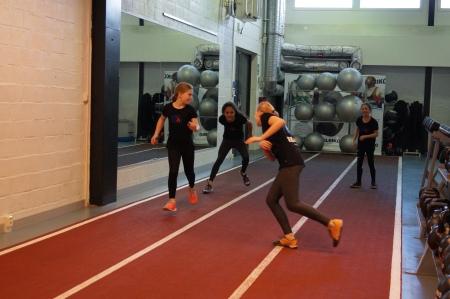Även konditionsträning kan göras rolig i form av olika lekar.